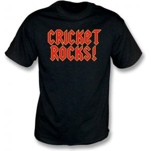 Cricket Rocks Childrens T-shirt