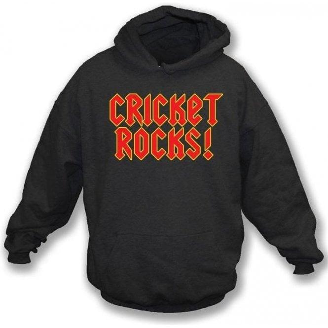 Cricket Rocks Hooded Sweatshirt