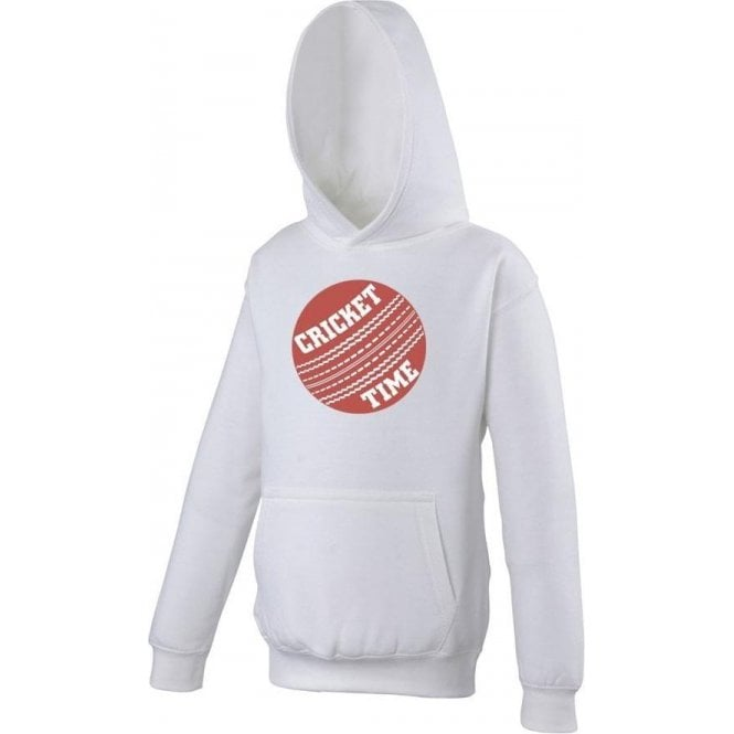 Cricket Time Kids Hooded Sweatshirt