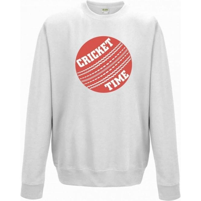 Cricket Time Kids Sweatshirt