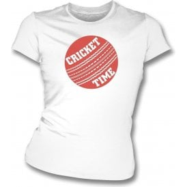 Cricket Time Womens Slim Fit T-Shirt