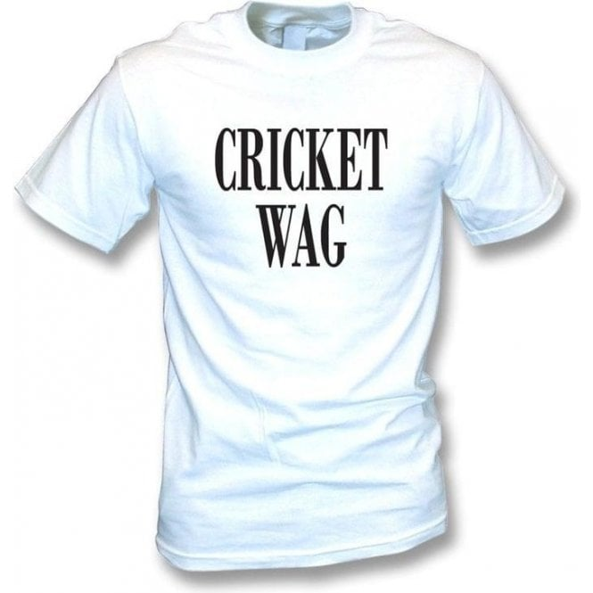Cricket Wife and Girlfriend WAG T-shirt
