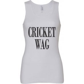 Cricket Wife And Girlfriend WAG Women's Baby Rib Tank Top