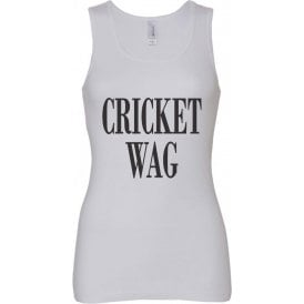 Cricket Wife And Girlfriend WAG Women's Baby Rib Tank Top
