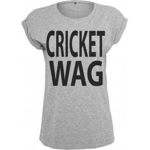 Cricket Wife And Girlfriend WAG Women's Extended Shoulder T-Shirt
