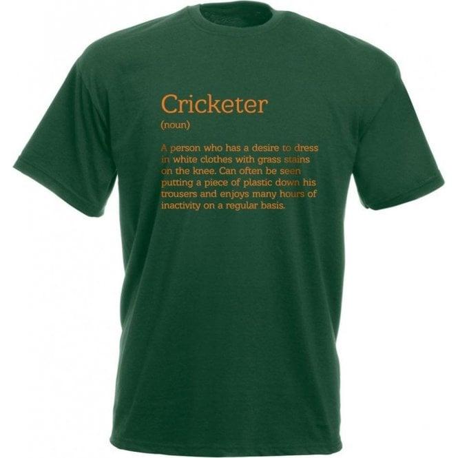 Cricketer Definition Kids T-Shirt