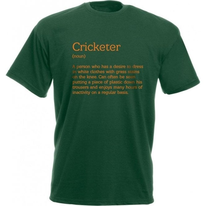 Cricketer Definition T-Shirt