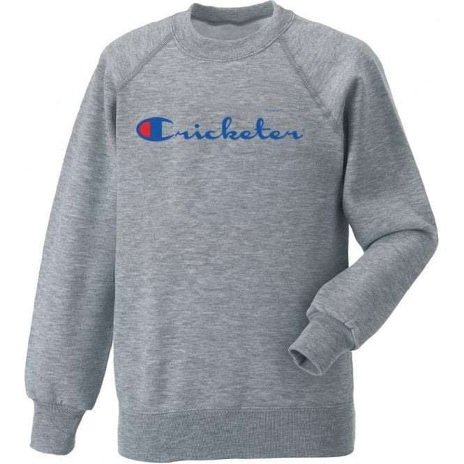 Cricketer Kids Sweatshirt