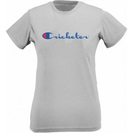 Cricketer Womens Slim Fit T-Shirt