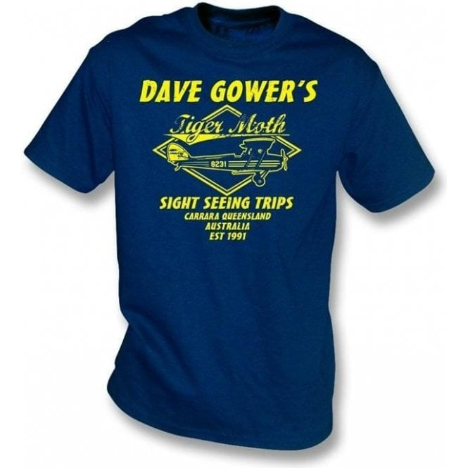Dave Gowers Tiger Moth Sight Seeing Trips T-shirt