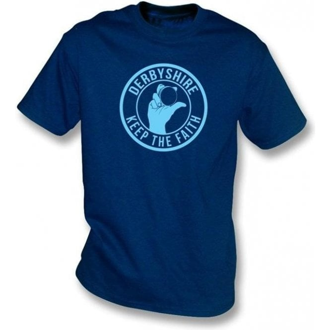 Derbyshire Keep The Faith T-shirt