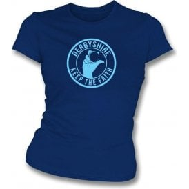 Derbyshire Keep The Faith Women's Slimfit T-shirt