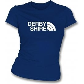 Derbyshire Region Womens Slim Fit T-Shirt