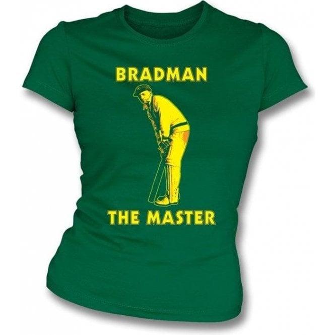 Don Bradman The Master Girls Slimfit T-shirt