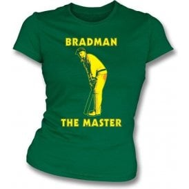 Don Bradman The Master Girls Slimfit T-shirt