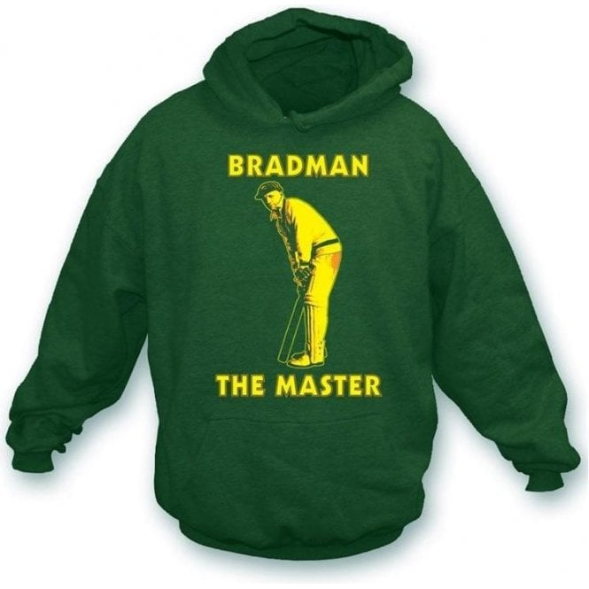 Don Bradman The Master Hooded Sweatshirt