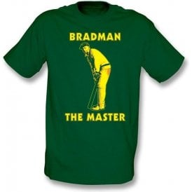 Don Bradman The Master T-shirt