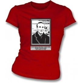 Douglas Jardine - I'm Here To Win The Ashes Girls Slimfit T-shirt