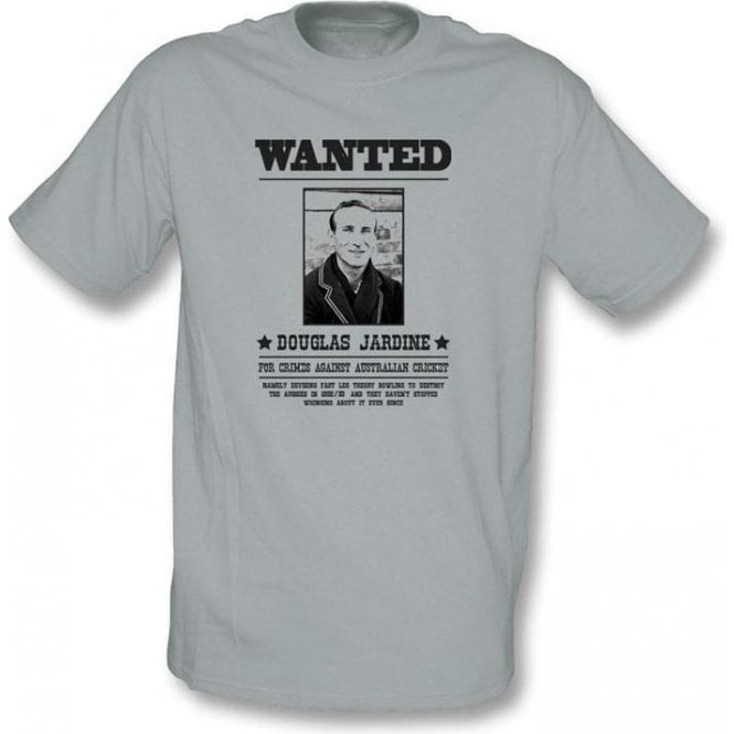 Douglas Jardine Wanted T-shirt