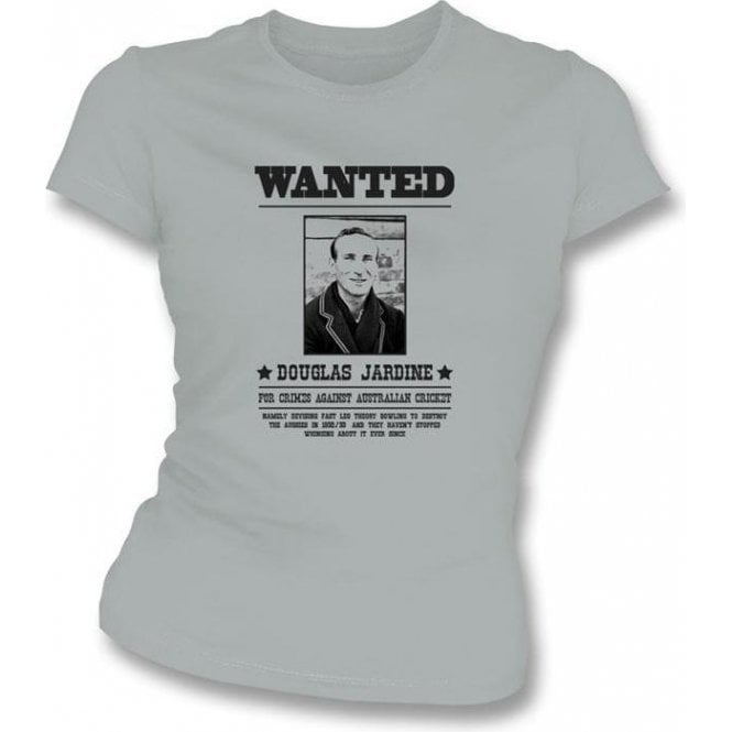Douglas Jardine Wanted Women's Slimfit T-shirt