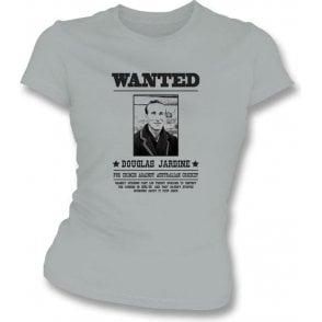 Douglas Jardine Wanted Women's Slimfit T-shirt