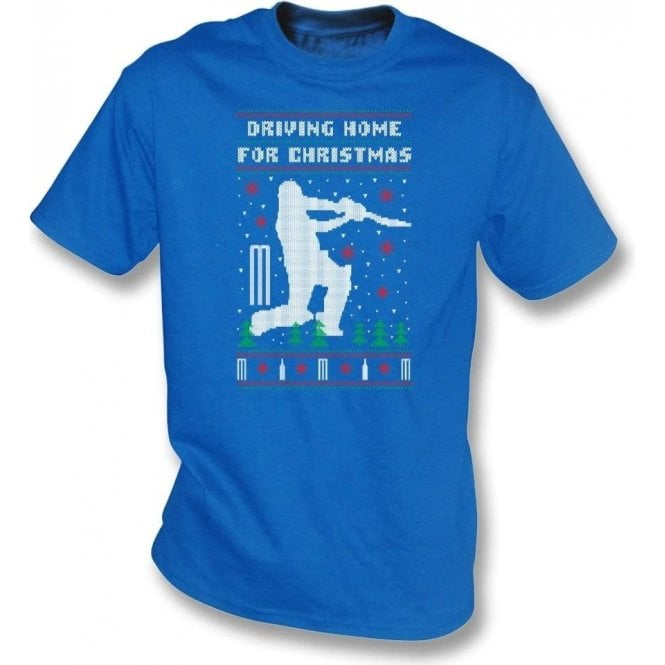 Driving Home For Christmas (Cricket) T-Shirt