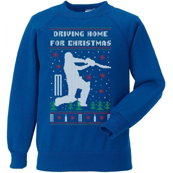 Driving Home For Christmas Kids Sweatshirt