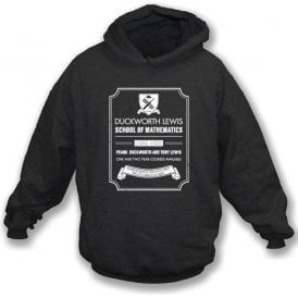Duckworth Lewis School Of Mathematics Hooded Sweatshirt
