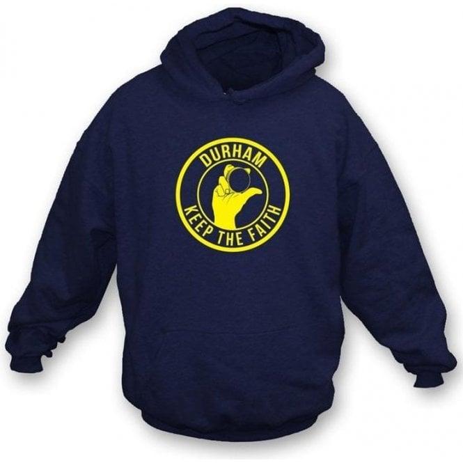 Durham Keep The Faith Hooded Sweatshirt