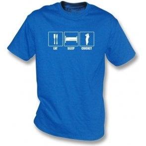 Eat, Sleep, Cricket Childrens T-shirt