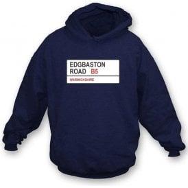 Edgbaston Road B5 Hooded Sweatshirt (Warwickshire)