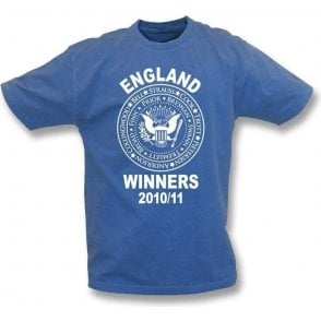 England Ashes Winners 2010/11 (Ramones Style) Vintage T-shirt