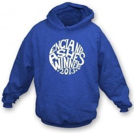 England Ashes Winners 2013 (Pretty Green Style) Hooded Sweatshirt