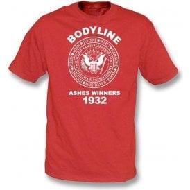 England Bodyline Ashes Winners 1932 t-shirt