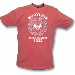 England Bodyline Ashes Winners 1932 vintage wash t-shirt
