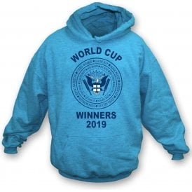 England Cricket World Cup Winners 2019 (Ramones Style) Kids Hooded Sweatshirt