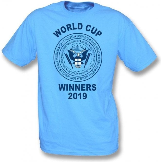 England Cricket World Cup Winners 2019 (Ramones Style) T-Shirt