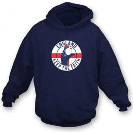 England Keep The Faith Hooded Sweatshirt