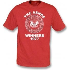 England The Ashes Winners 1977 t-shirt