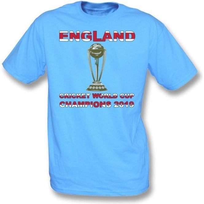 England World Cup Champions 2019 Kids T-Shirt