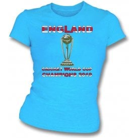 England World Cup Champions 2019 Womens Slim Fit T-Shirt