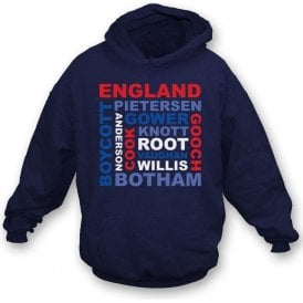 England World Cup Legends Kids Hooded Sweatshirt