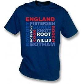 England World Cup Legends Kids T-Shirt