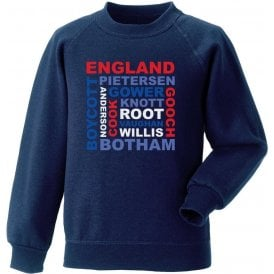 England World Cup Legends Sweatshirt