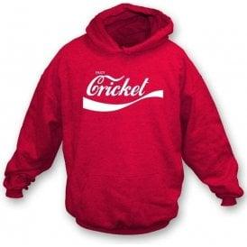 Enjoy Cricket Childrens Hooded Sweatshirt