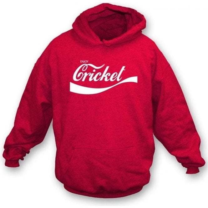Enjoy Cricket Hooded Sweatshirt