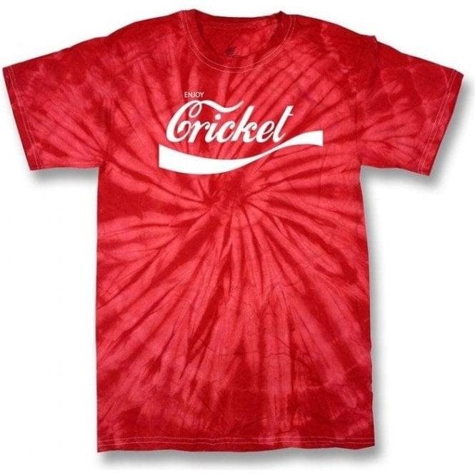 Enjoy Cricket Tie Dye T-Shirt