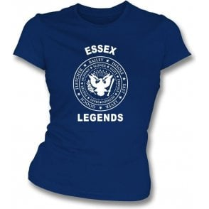 Essex Legends (Ramones Style) Womens Slim Fit T-Shirt