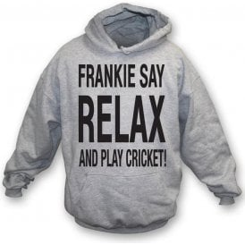 Frankie Say Relax And Play Cricket Children's Hooded Sweatshirt