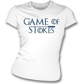 Game Of Stokes Womens Slim Fit T-Shirt